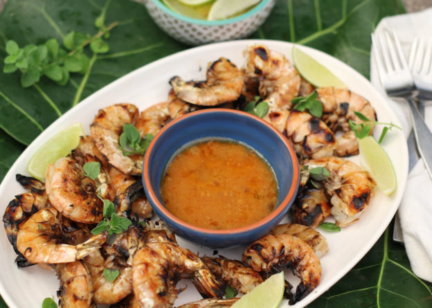 grilled shrimp with cajun butter